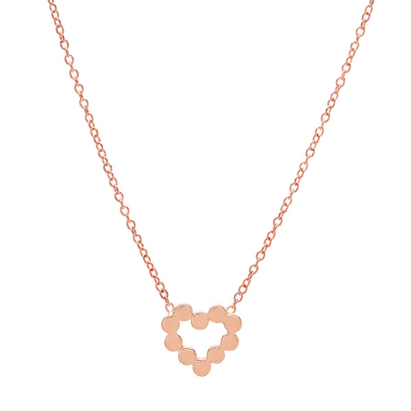 DSJ's Signature Meaningful Gold Heart Necklace