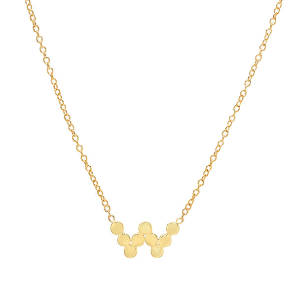 DSJ's Signature Gold Initial Initial Necklace