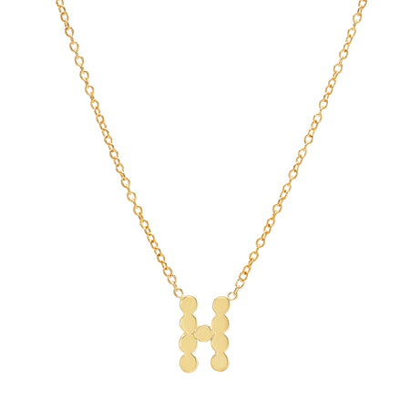 """6 Precious Initials"" DSJ's Signature Meaningful Multi Gold Initial Necklace"