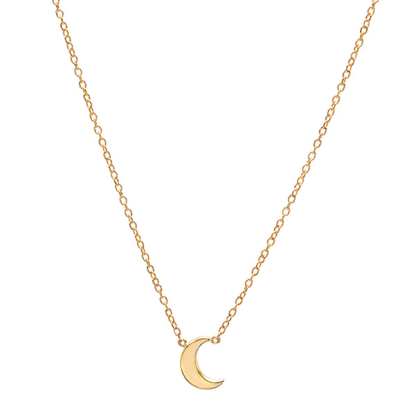 My Moon Gold Necklace
