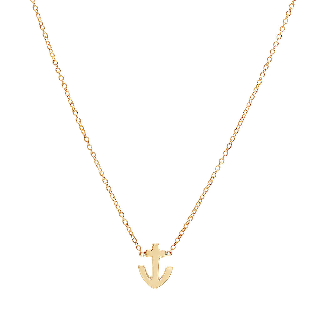 Anchor of Hope Gold Necklace – Dana Seng Jewelry Collection