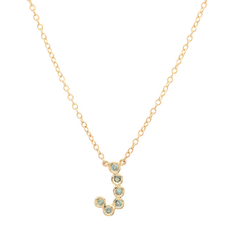 """2 Precious Birthstones"" Necklace"