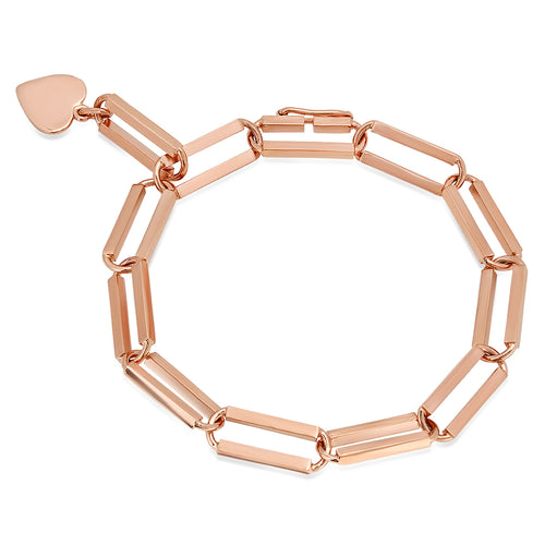 Rectangular Era Fancy Linked Bracelet