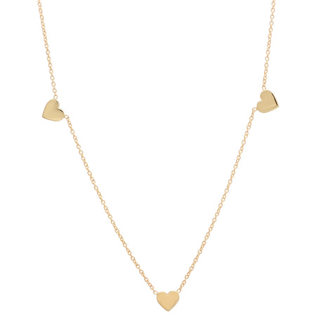 Baby Heart Gold Dangle Necklace