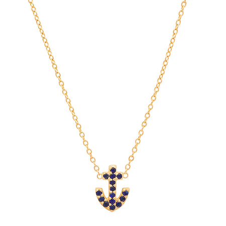 Anchor of Hope Diamond Necklace