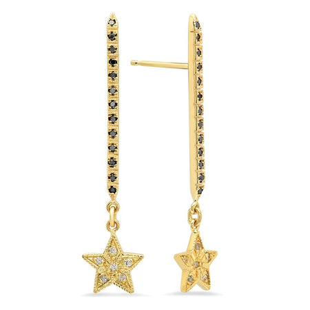 Lighten-up Evangeline Diamond Dangle Earrings
