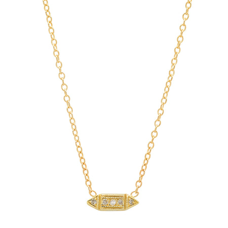 Anchor of Hope Gold Necklace