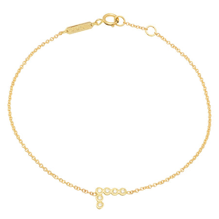 Mini Mysterious Diamond Bar Bracelet