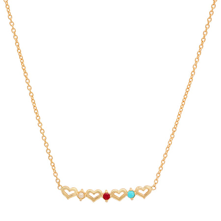 Anchor of Hope Ruby Necklace