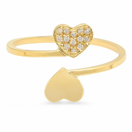The Enticing Open Cuff Precious Gemstone Ring