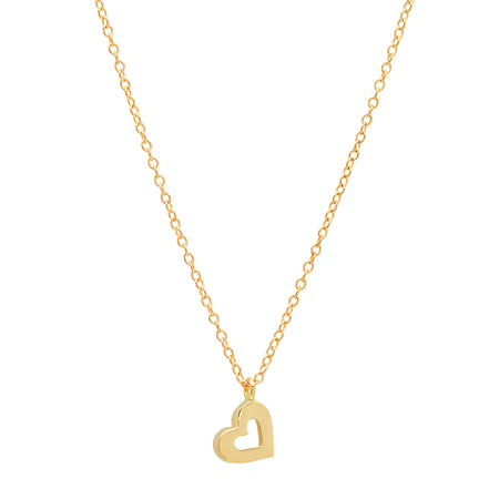 Mini Flawless Square Gold Necklace