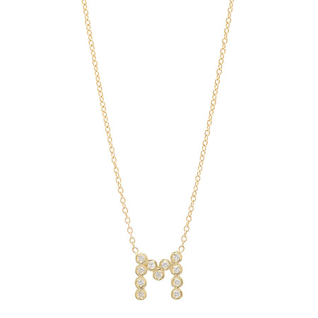 DSJ's Signature Tiny Open Heartbeats Birthstone Necklace