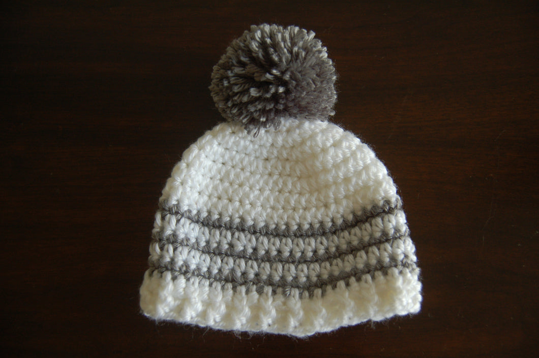 Basic Hat with Pom