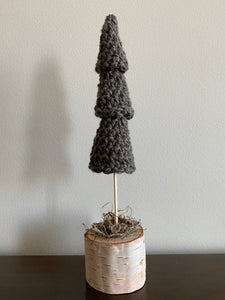 Single Tree (dark taupe)