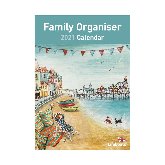 2021 Joe Ramm Family Organiser