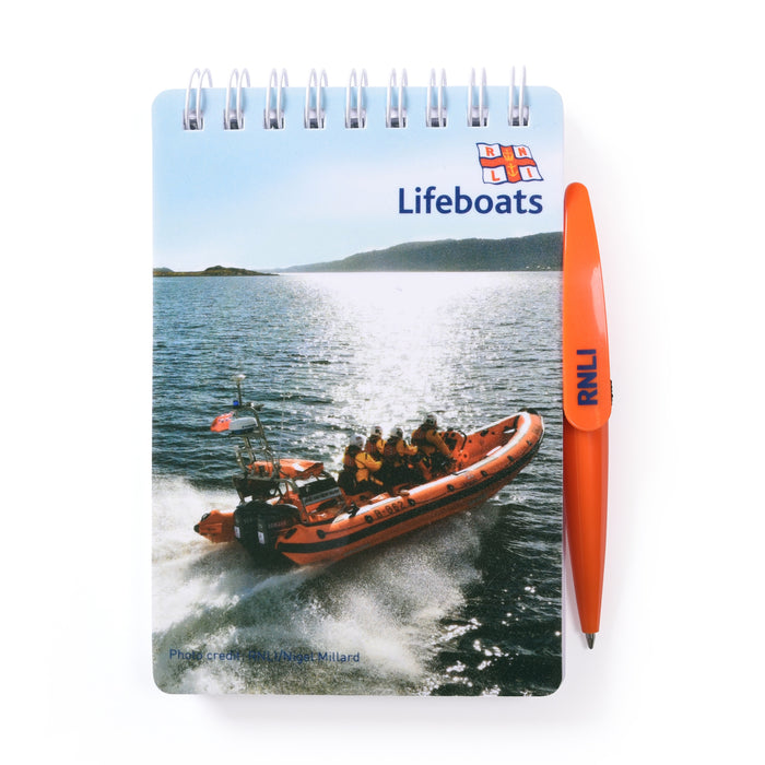 A6 Inshore Action Notebook with Pen