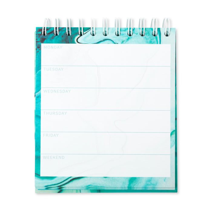 Aquamarine Square Weekly Planner