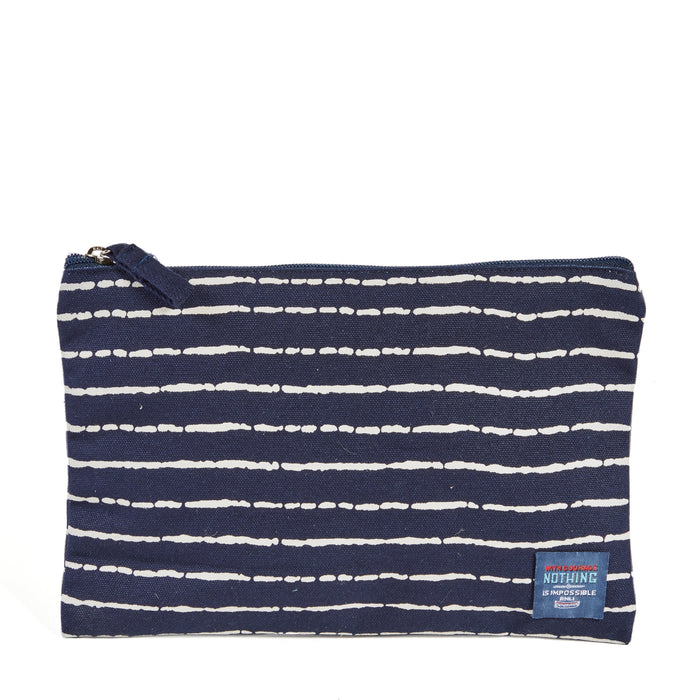 Bamboo Stripe Pouch