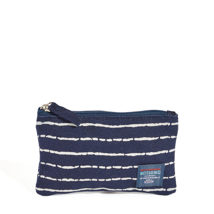Bamboo Stripe Purse