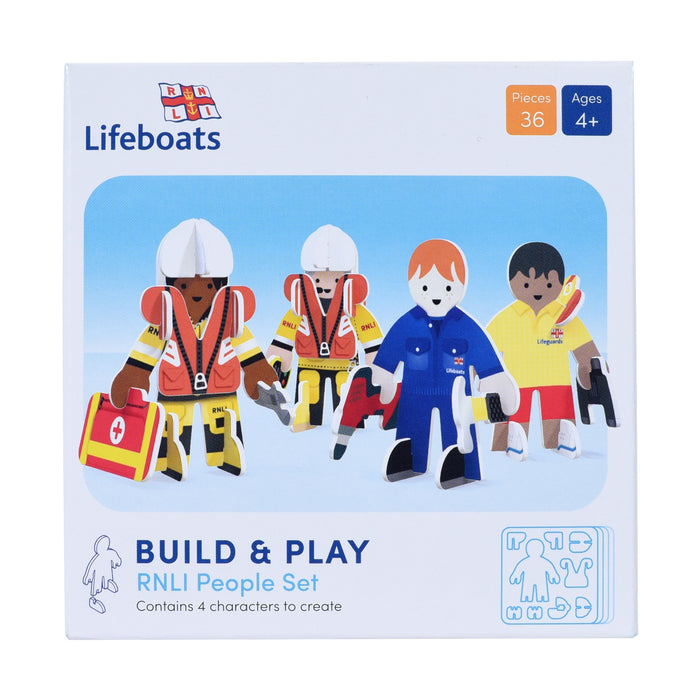 Build & Play RNLI People Set