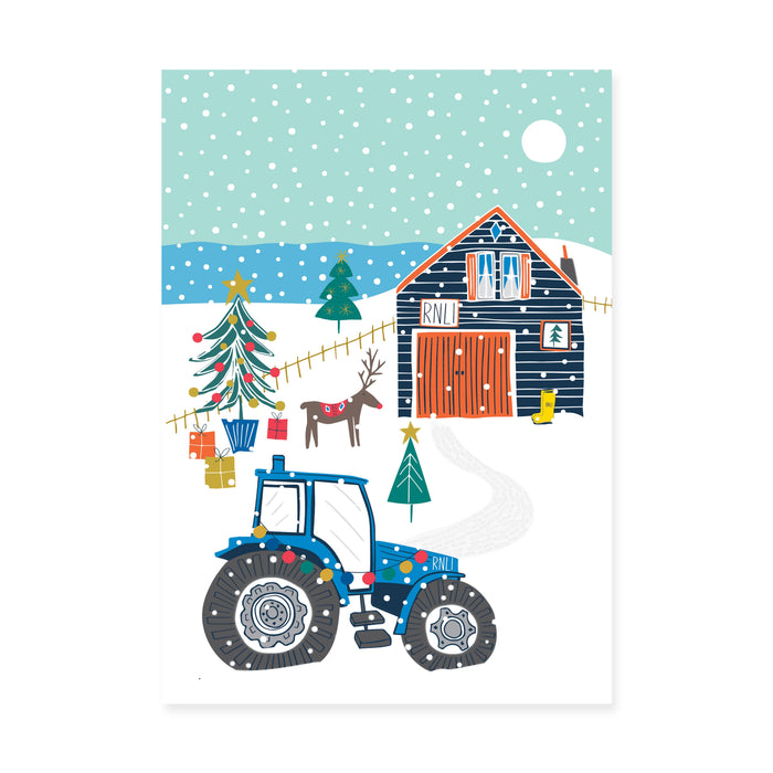 Christmas At The Station, Pack of 10 Christmas Cards