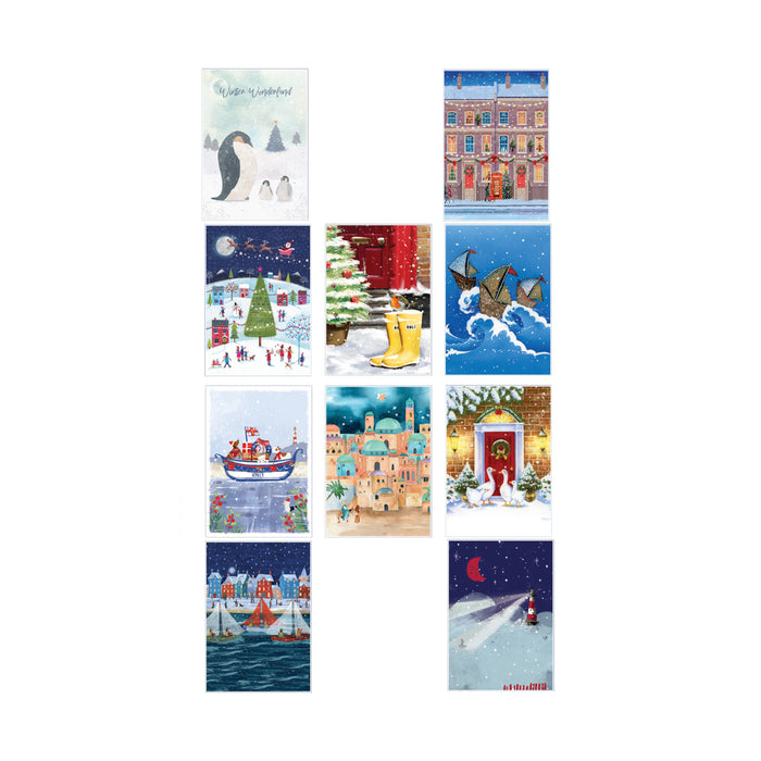 Christmas Cards Variety Box 2020