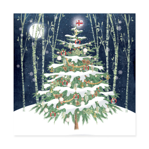 Christmas Tree, Pack of 10 Christmas Cards