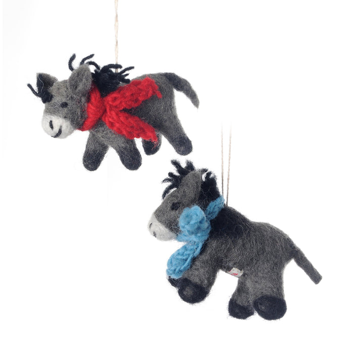 Donkey Felt Decoration