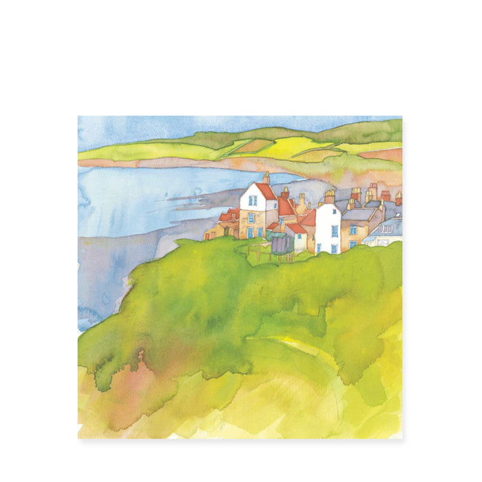 Emma Ball Robin Hoods Bay Card