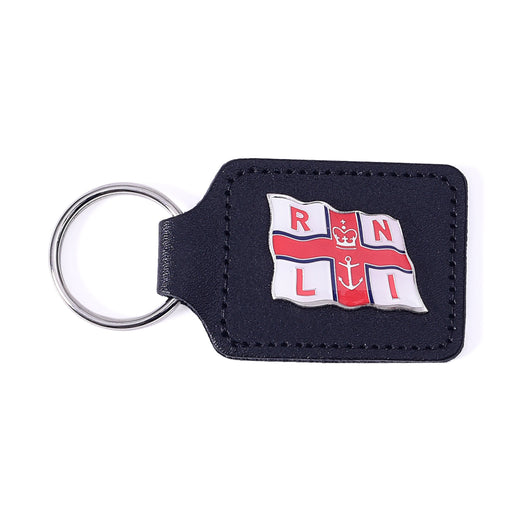 Flag Leather Keyring