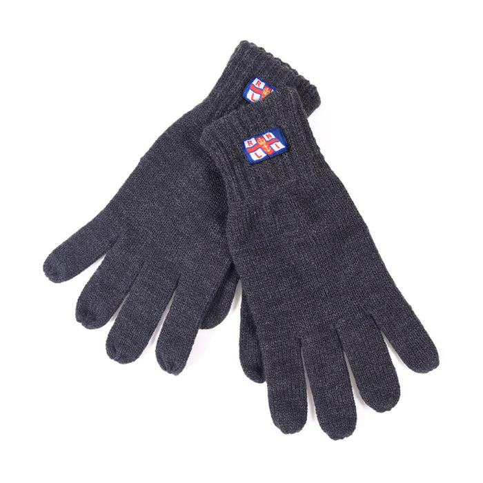 Flag Regular Acrylic Gloves Grey