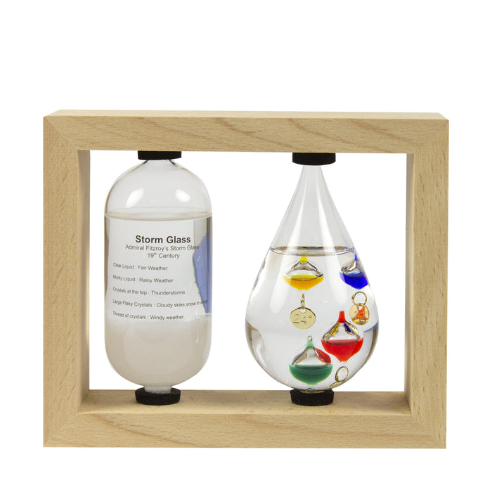 Galileo Thermometer and Storm Bottle