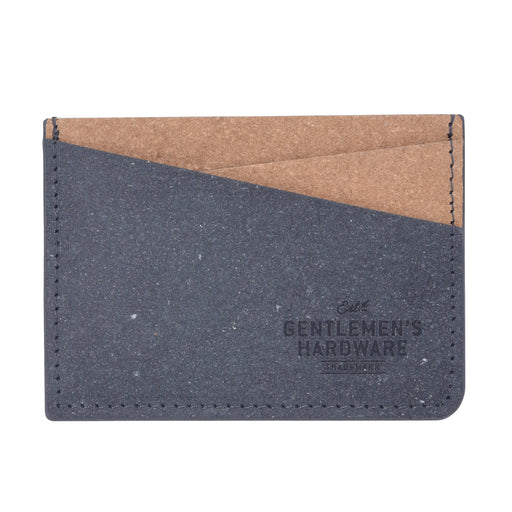 Gentlemen's Hardware Recycled Leather Fibre Card Holder