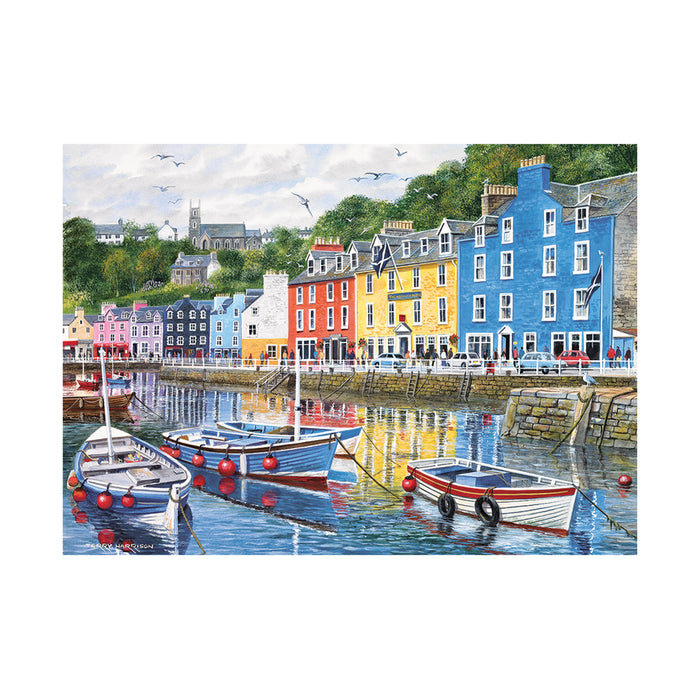 Gibsons Tobermory Jigsaw Puzzle
