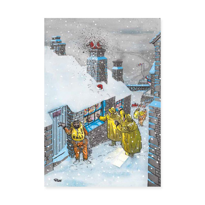 Giles Cartoon, Pack of 10 Christmas Cards