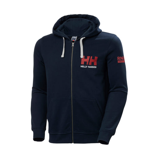 Helly Hansen RNLI Men's Logo Full Zip Hoodie Navy Blue
