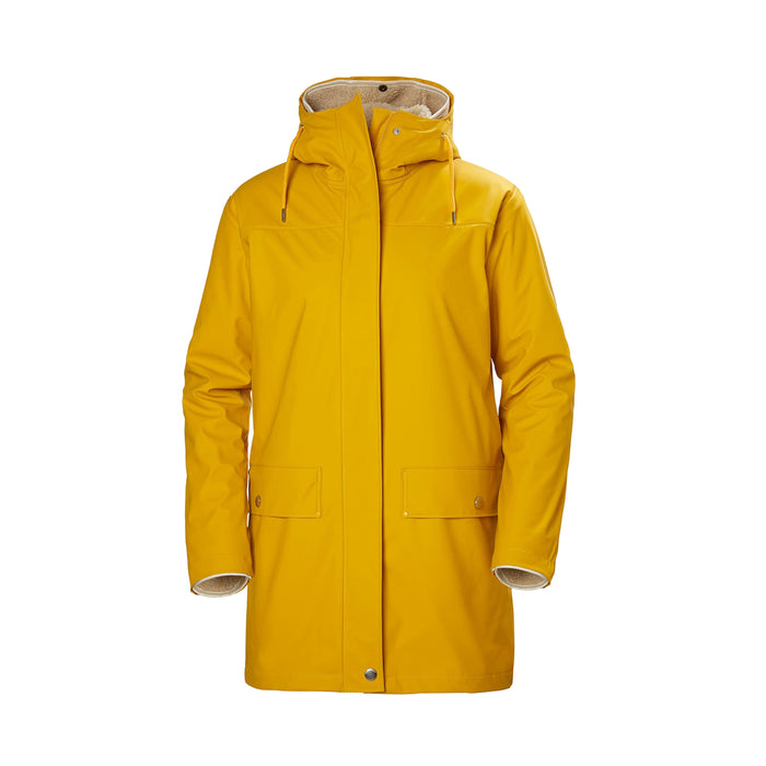 Helly Hansen Women's Moss Coat Yellow