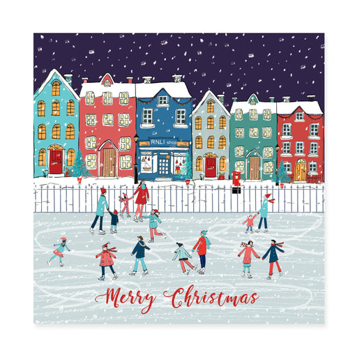 Ice Skating, Pack of 10 Christmas Cards