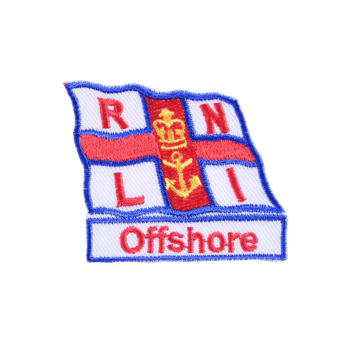 Iron On RNLI Offshore Badge