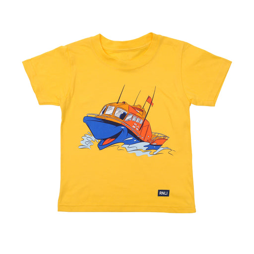 Kids All Weather Alfie T-Shirt Yellow