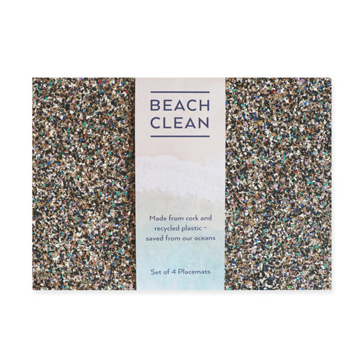 Liga Beach Clean Placemats, Set of 4