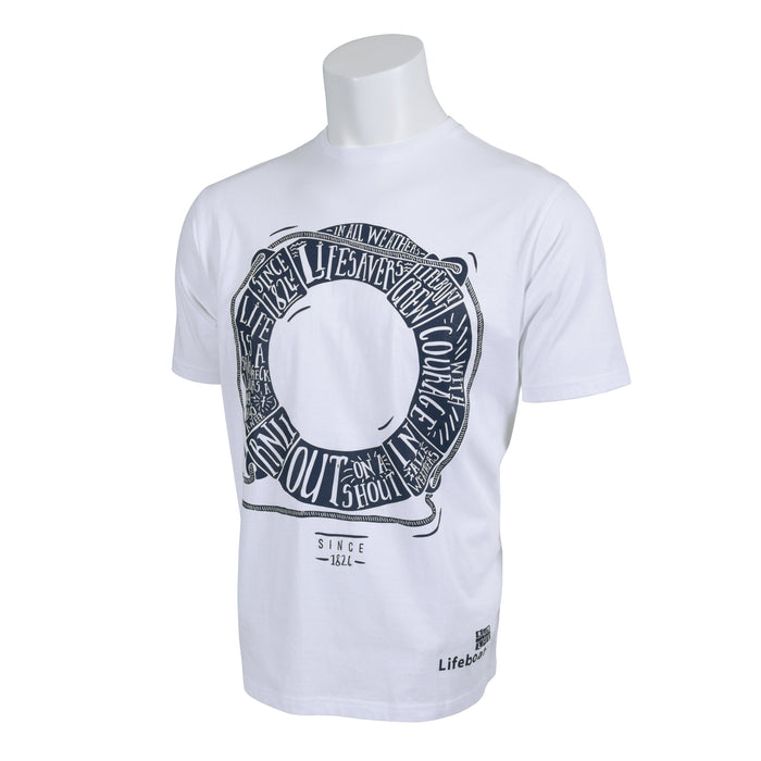 Men's Lifering T-Shirt White