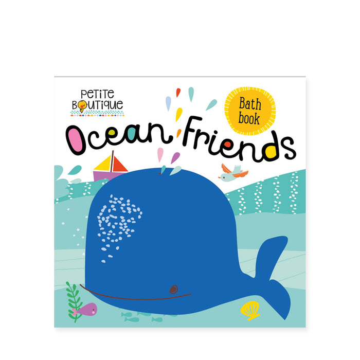 Ocean Friends Bath Book