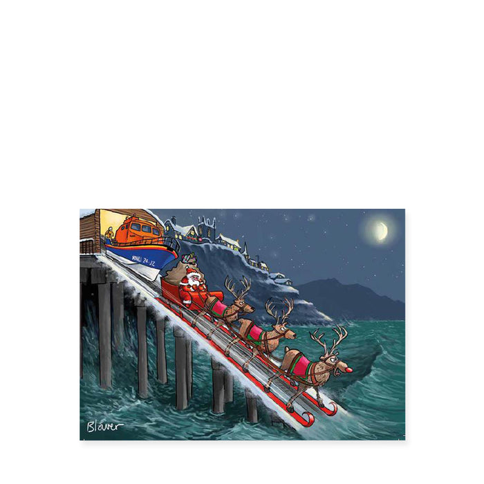 On Their Way, Pack of 8 Christmas Cards
