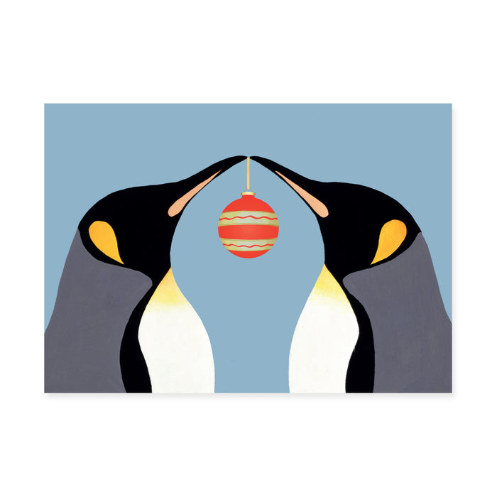 Penguins, Pack of 10 Christmas Cards