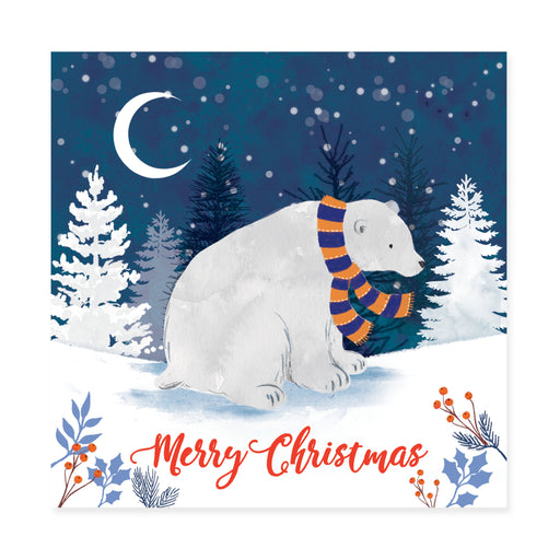 Polar Bear, Pack of 10 Christmas Cards