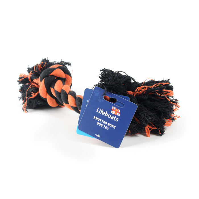 RNLI Knotted Rope Dog Toy
