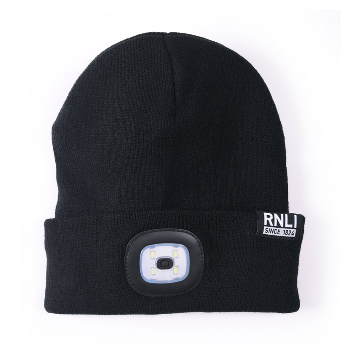 RNLI LED Beanie Black