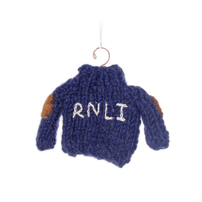RNLI Sweater Hanging Decoration