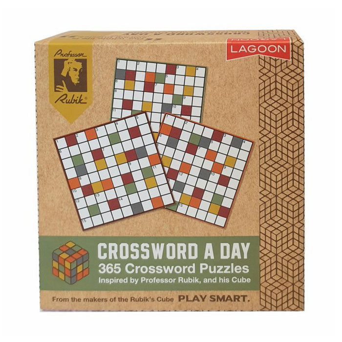 Rubik's Crossword A Day Deskblock